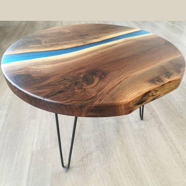 Live Edge Round Coffee Table Canada Coffee Table Design Ideas
