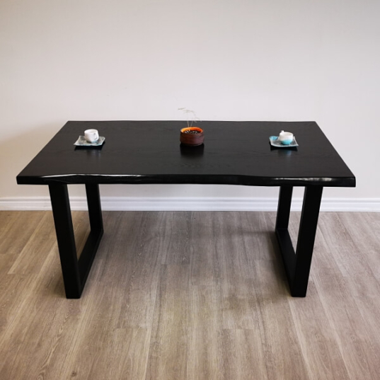 Handcrafted Live Edge Table