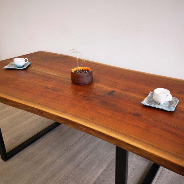 Walnut Wood Dining Table