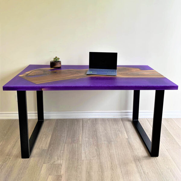 Reverse Epoxy Desk