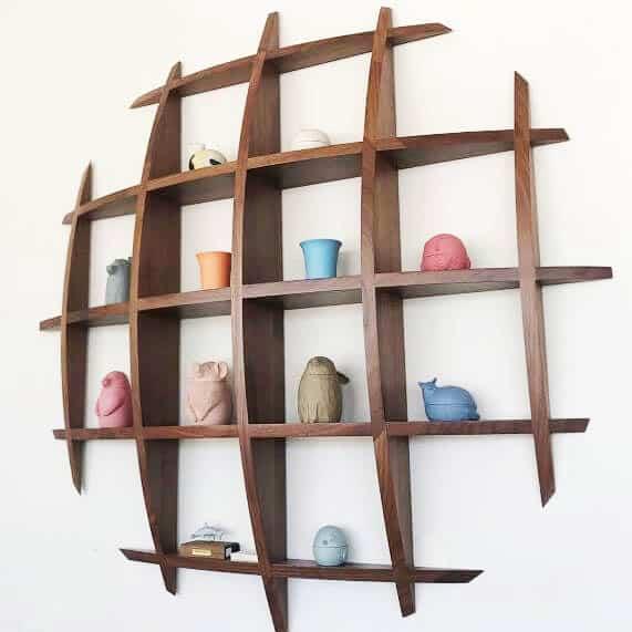 Circle Wall Shelves Toronto
