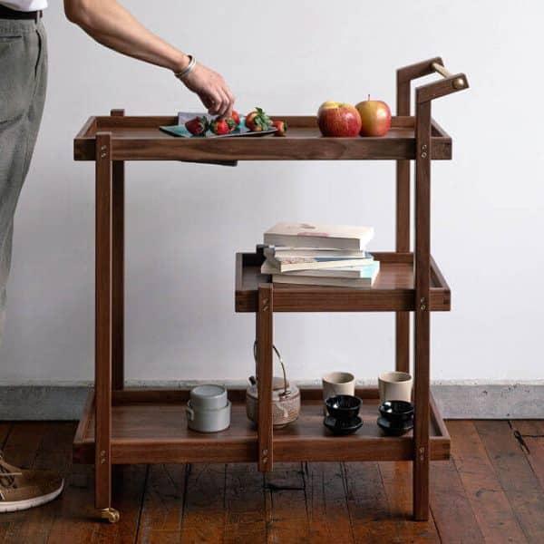 Wood Tea Cart Toronto