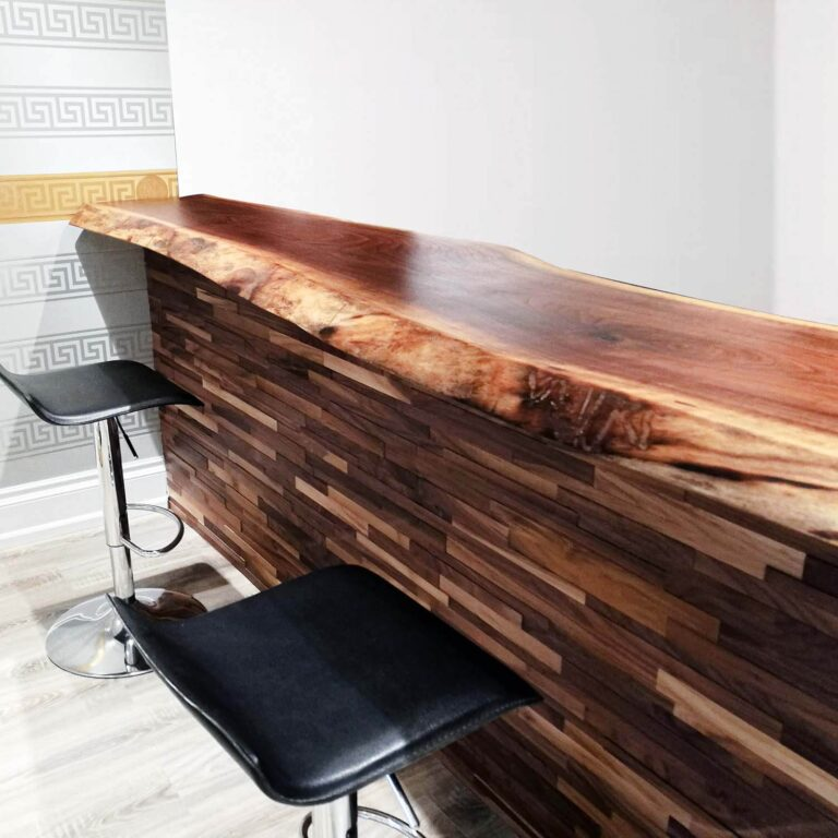 live edge bar top