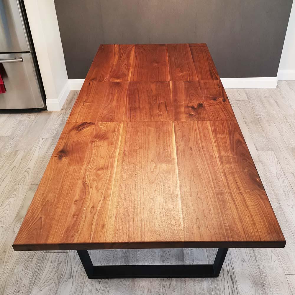 extendable wood table Toronto