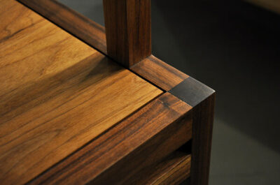木製餐椅細節