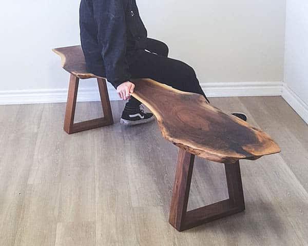 Custom wood benches Toronto