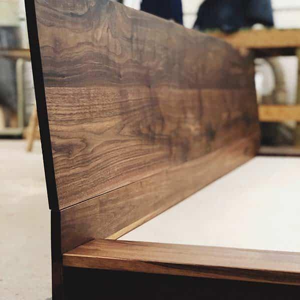 Designer Walnut Bed Frames