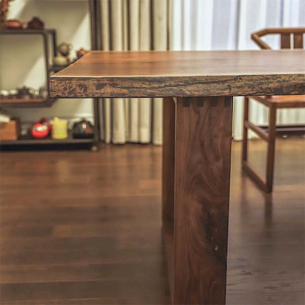 Dining Room Table with live edge Richmond Hill