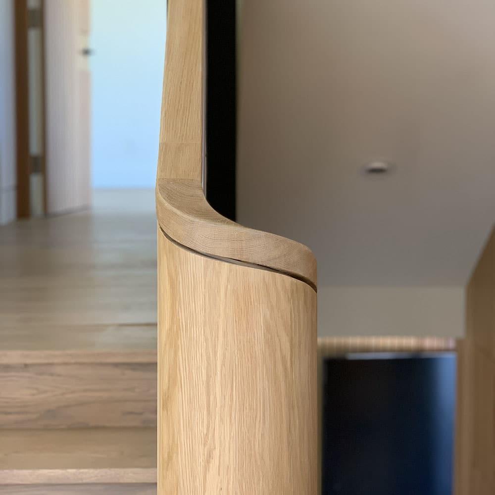 Wood Banister Toronto