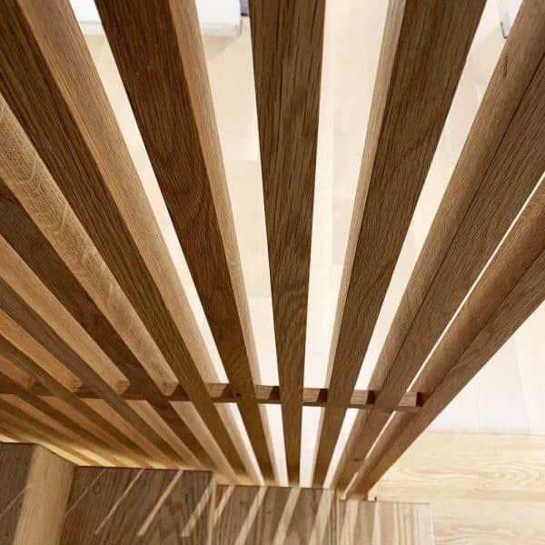 Wood Slatted Walls