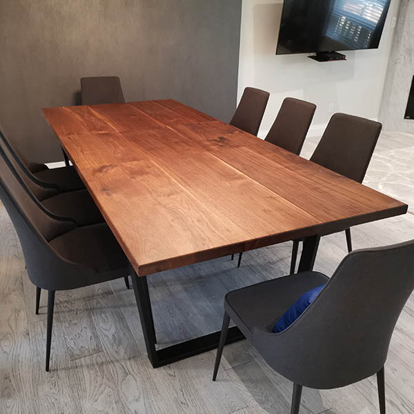 Wood Table with extension
